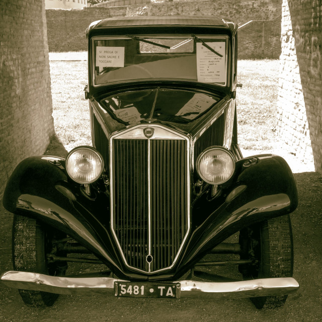 """Lancia Augusta (1933)"" stock image"