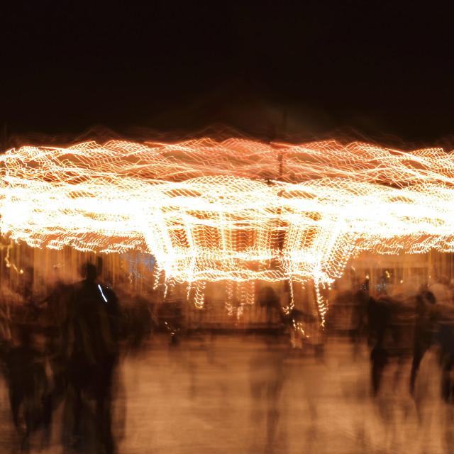 """Carousel PortAventura Park Salou Spain"" stock image"