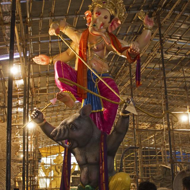 """Towering Ganesha"" stock image"