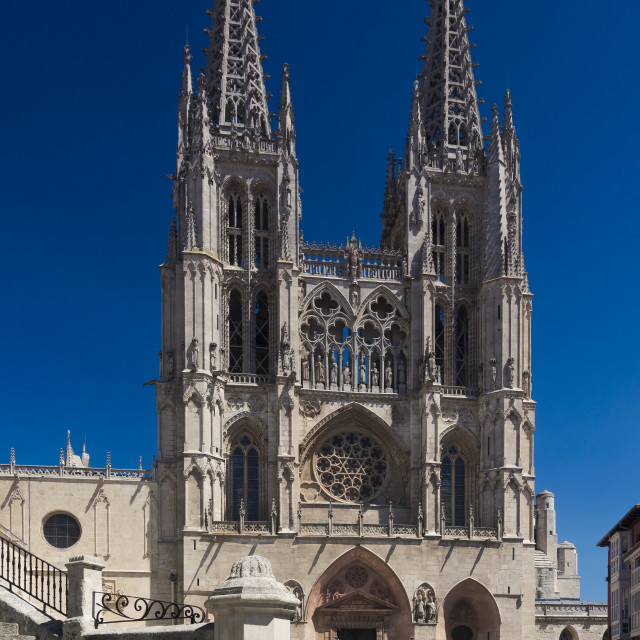 """Burgos cathedral"" stock image"