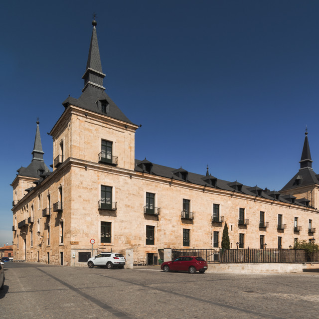 """Duke of Lerma palace"" stock image"