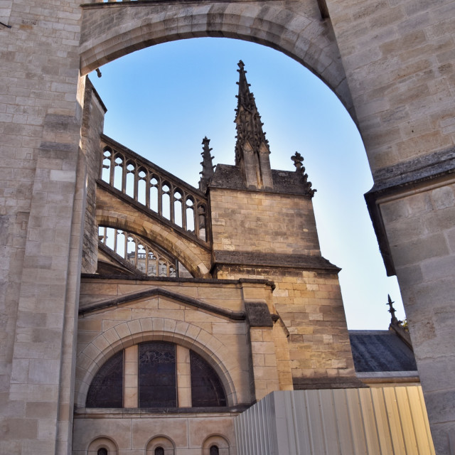 """""""Bordeaux Cathedral"""" stock image"""