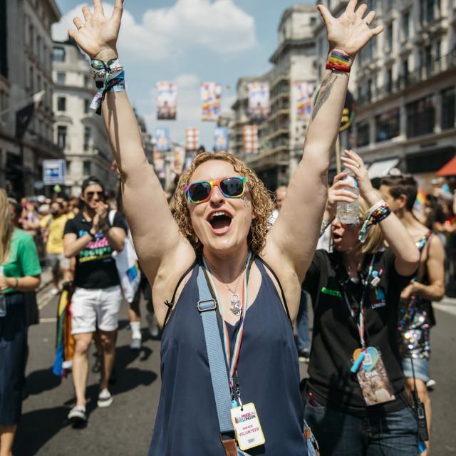 """London Pride '18 [5]"" stock image"