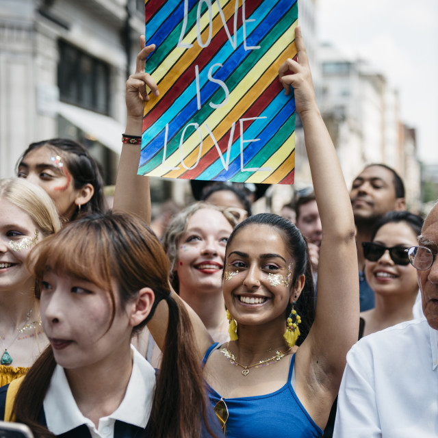 """London Pride '18 [4]"" stock image"