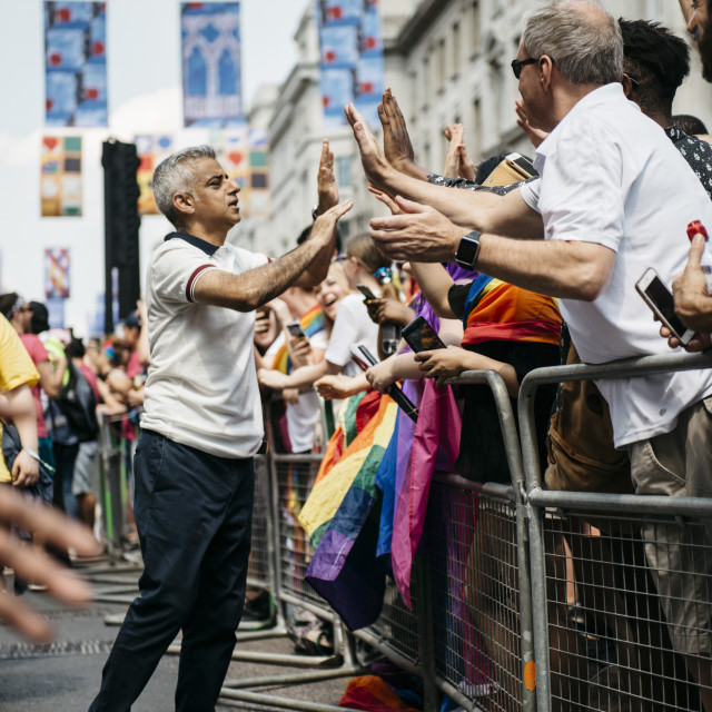 """London Pride '18 [6]"" stock image"