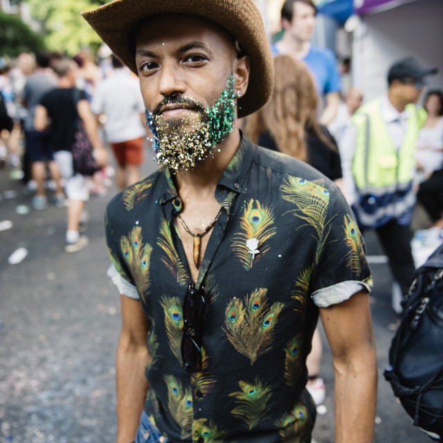 """London Pride '18 [20]"" stock image"