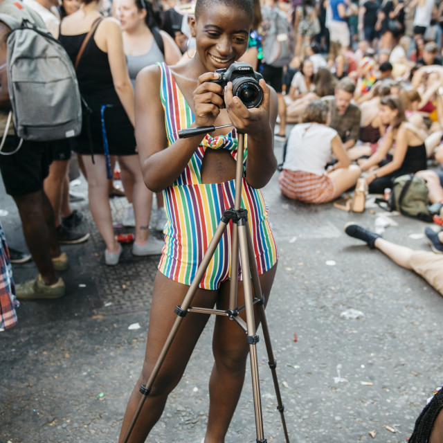 """London Pride '18 [21]"" stock image"
