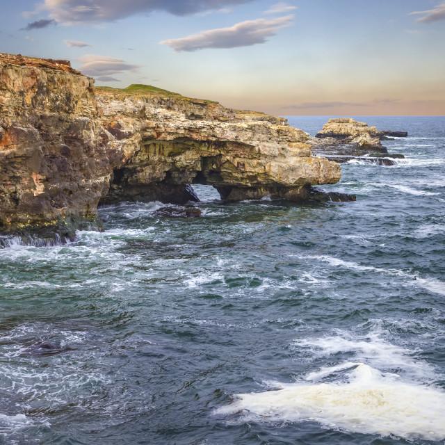 """coastline cliffs"" stock image"