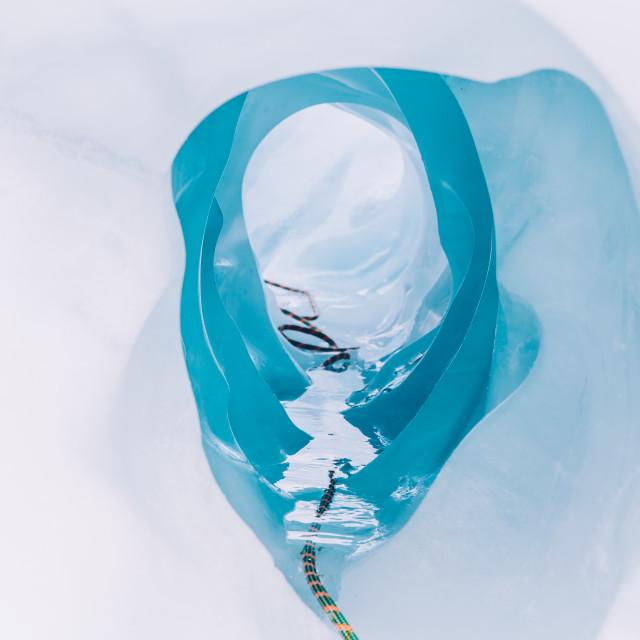 """""""Ice hole"""" stock image"""