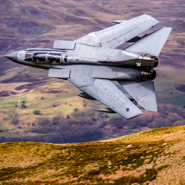 """41 Squadron TES Tornado GR4"" stock image"