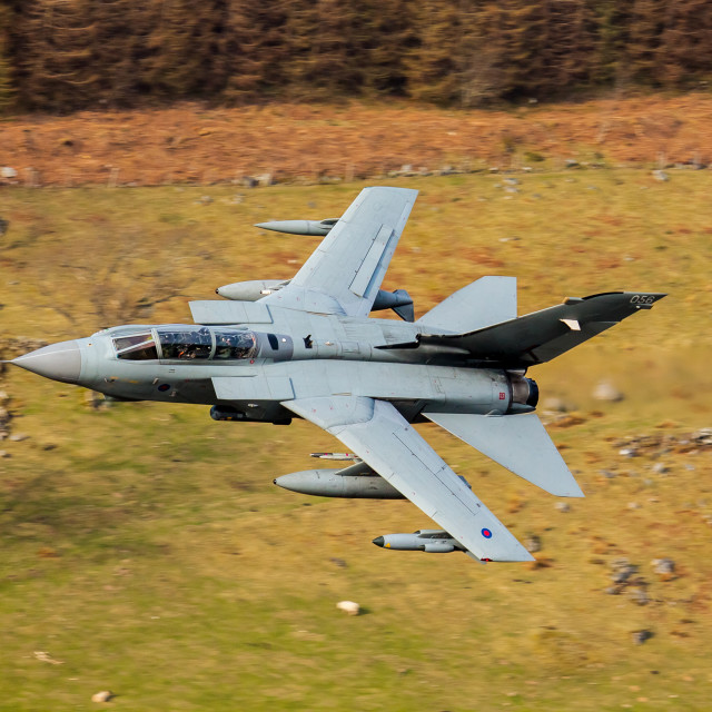 """""""Tornado GR4 at low level"""" stock image"""