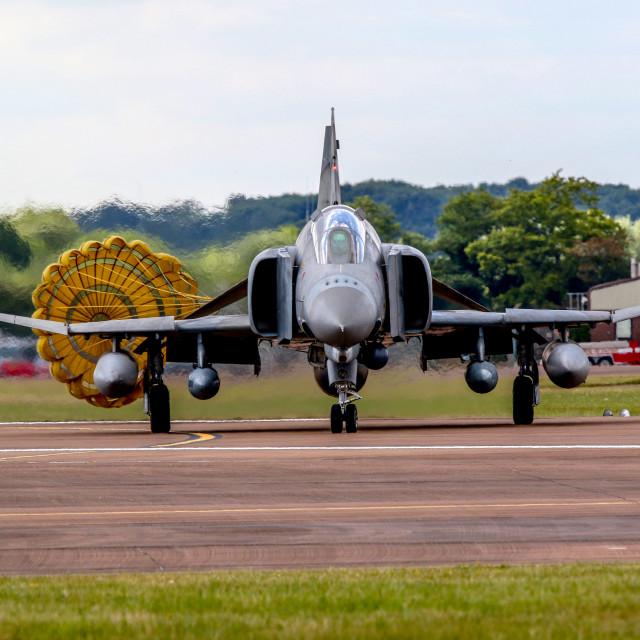 """The Last Phantoms 338 Squadron"" stock image"