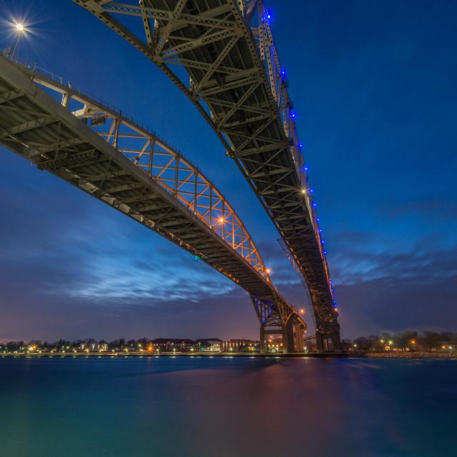 """Blue Water Bridge - 1"" stock image"