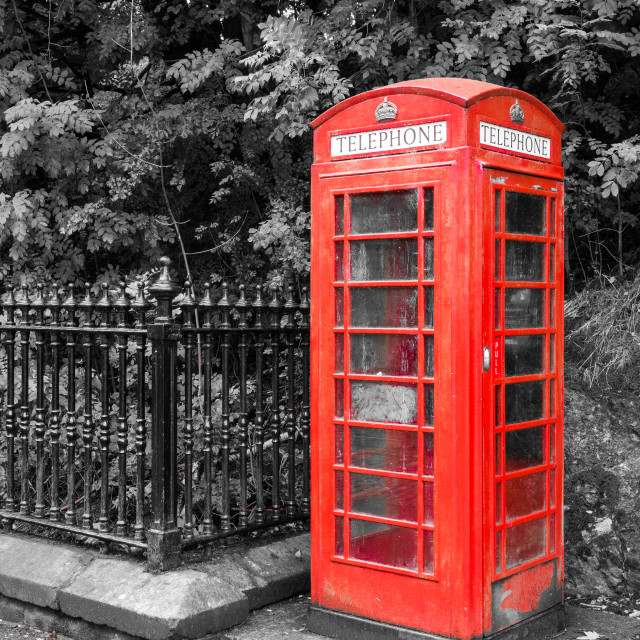 """Phone Box"" stock image"
