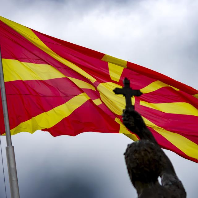 """Macedonian Pride"" stock image"
