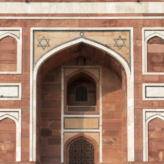 """""""Humayun's Tomb, New Delhi"""" stock image"""