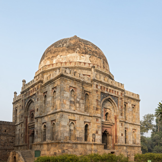 """Lodhi Gardens, New Delhi"" stock image"