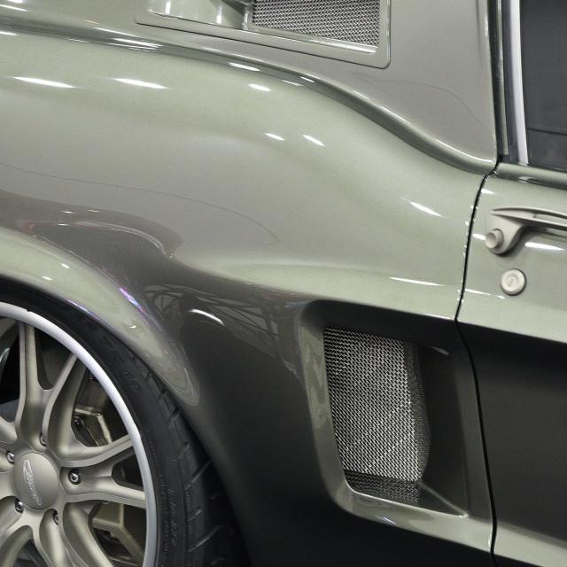 """Custom Mustang Would Make Detective Bullitt Envious!"" stock image"