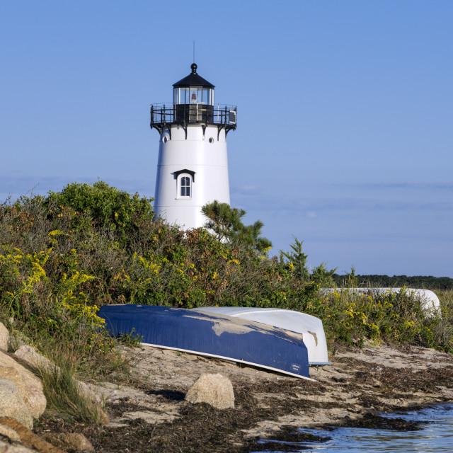 """Edgartown Lighthouse, Martha's Vineyard"" stock image"