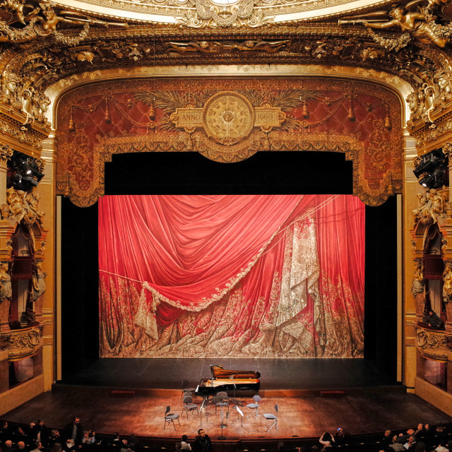 """Palais Garnier, Opera National de Paris"" stock image"