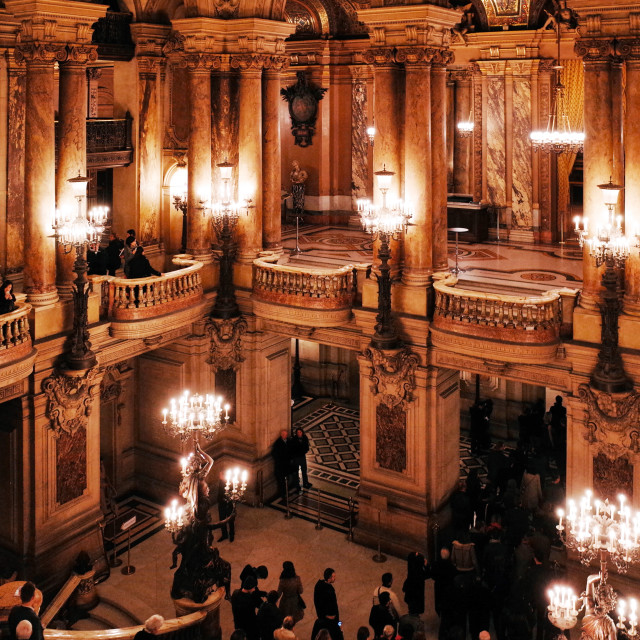 """Palais Garnier, Opera National de Paris"" stock image"