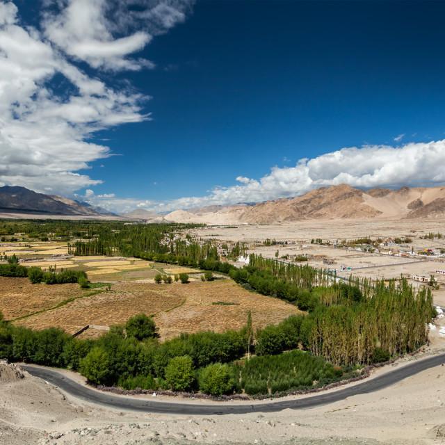 """Indus valley, Ladakh, India"" stock image"
