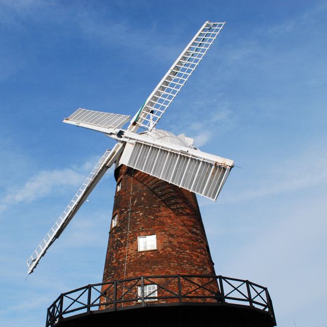 """Greens Windmill - Nottingham"" stock image"