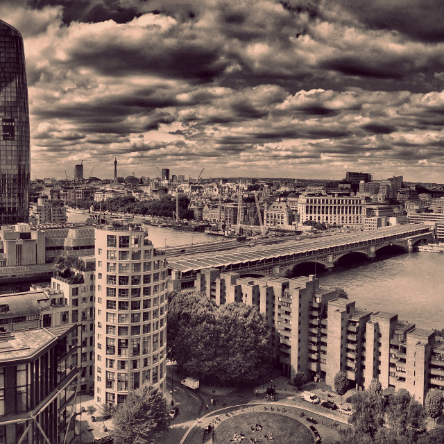 """London Panorama"" stock image"