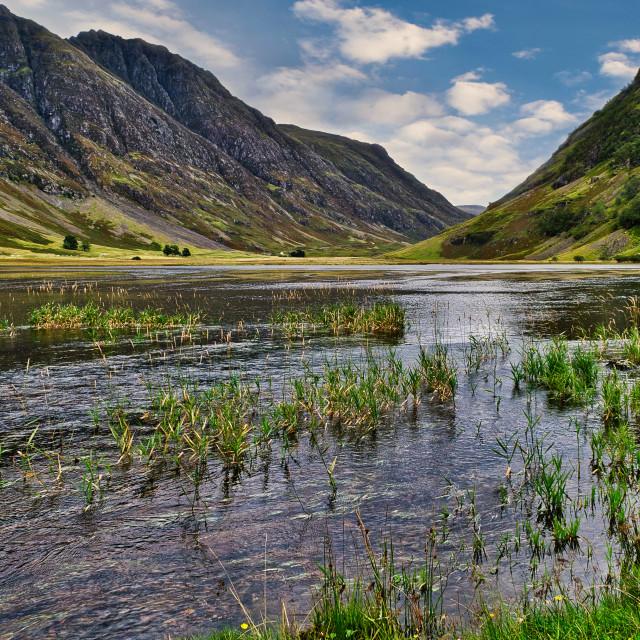 """""""Loch Atriochtan"""" stock image"""