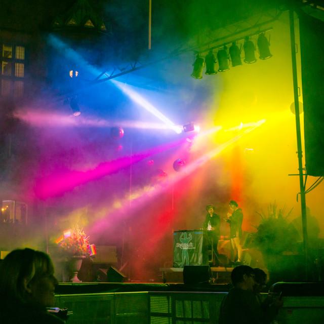 """""""Pride week concert in Copenhagen"""" stock image"""