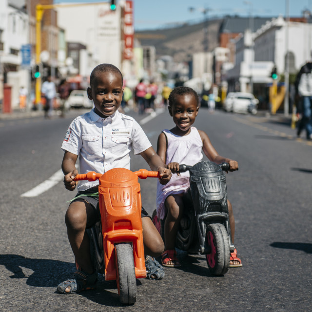 """Open Streets Main Road III"" stock image"