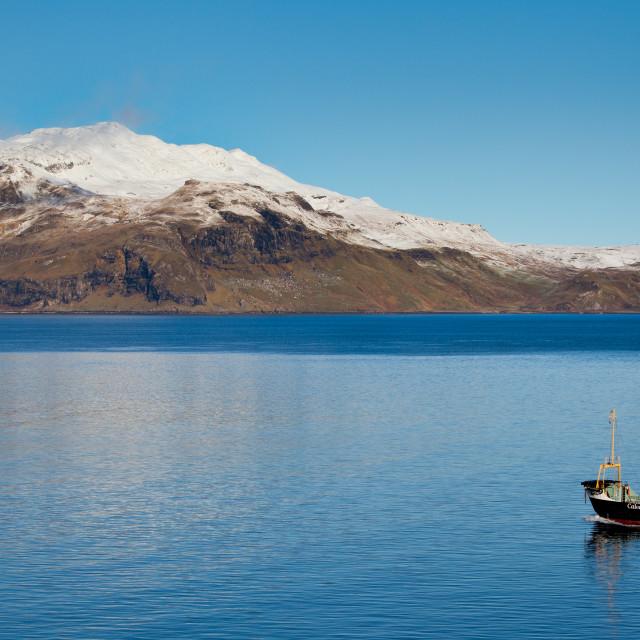 """Kilchoan Ferry"" stock image"