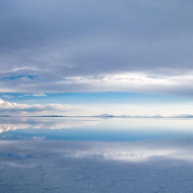 """""""Salar de Uyuni desert, Bolivia"""" stock image"""