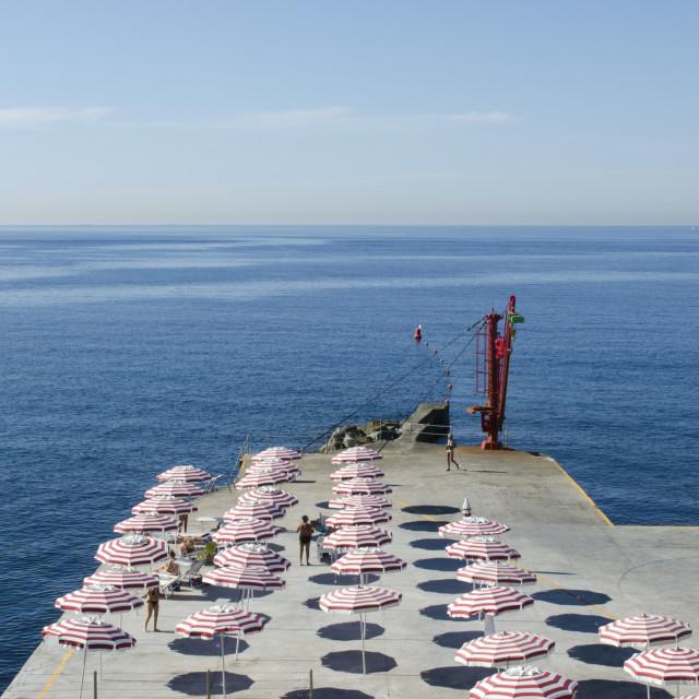 """Genoa Coast"" stock image"