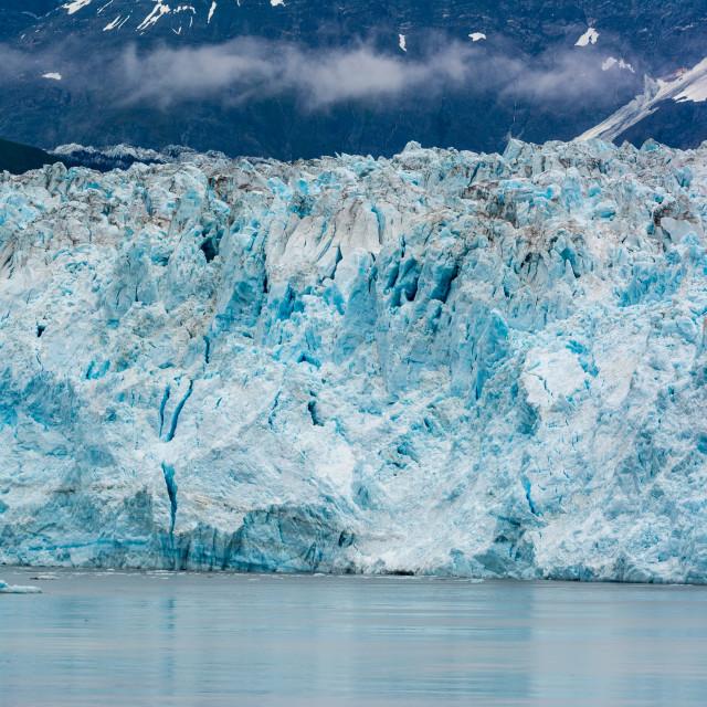 """Hubbard Glacier, Alaska"" stock image"