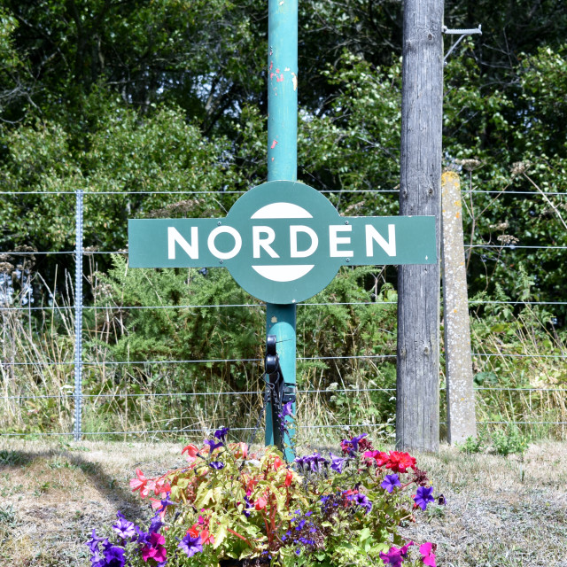 """""Norden Station"""" stock image"