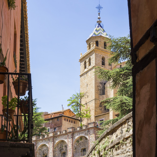 """Albarracin old town, Spain"" stock image"