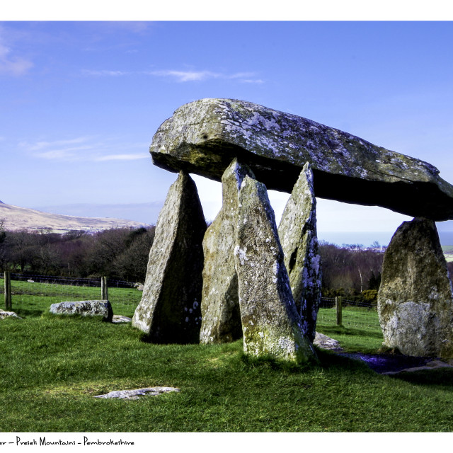 """""""Ancient Burial Chamber"""" stock image"""