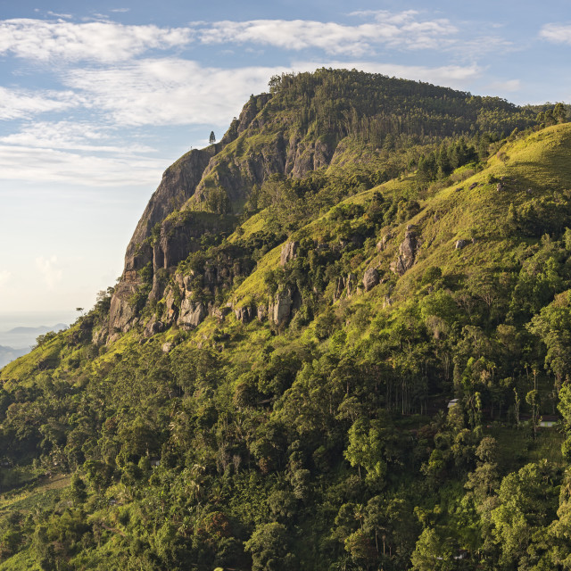 """Ella Rock, Sri Lanka"" stock image"