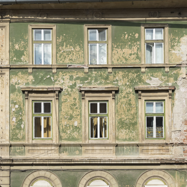 """Old House, Sibiu"" stock image"