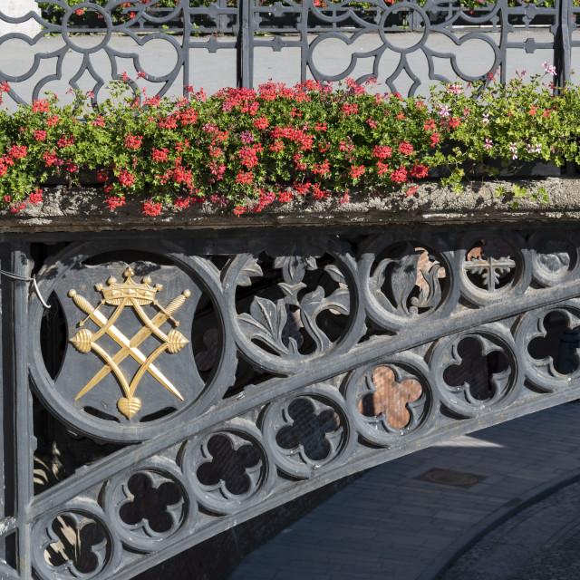 """""""Liars Bridge, Sibiu"""" stock image"""