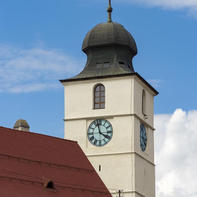 """""""Council Tower, Sibiu"""" stock image"""