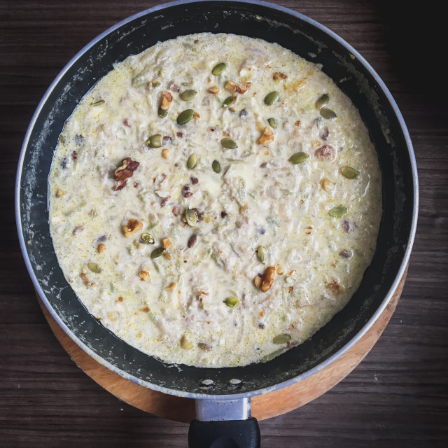 """Kheer or Payasam"" stock image"