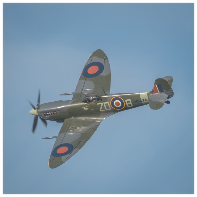 """Dawn Spitfire"" stock image"