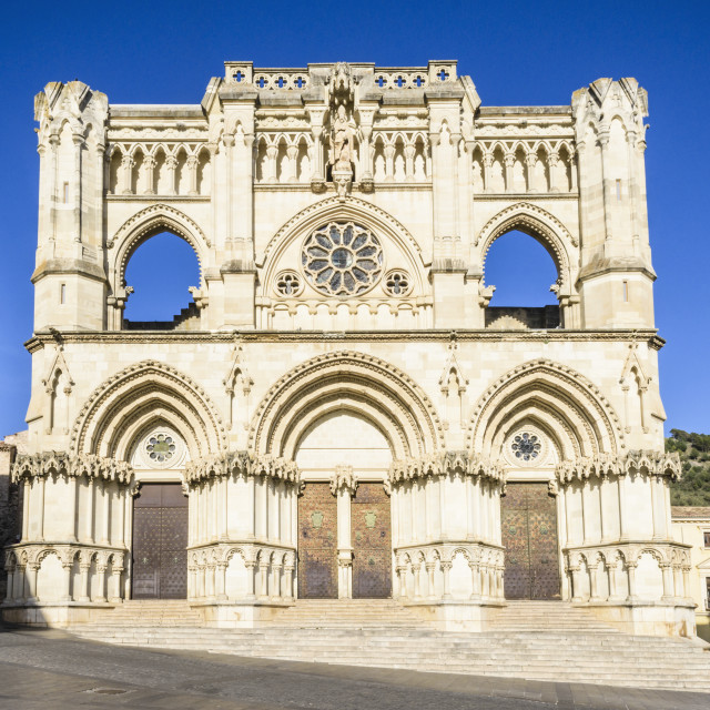 """Cuenca Cathedral"" stock image"
