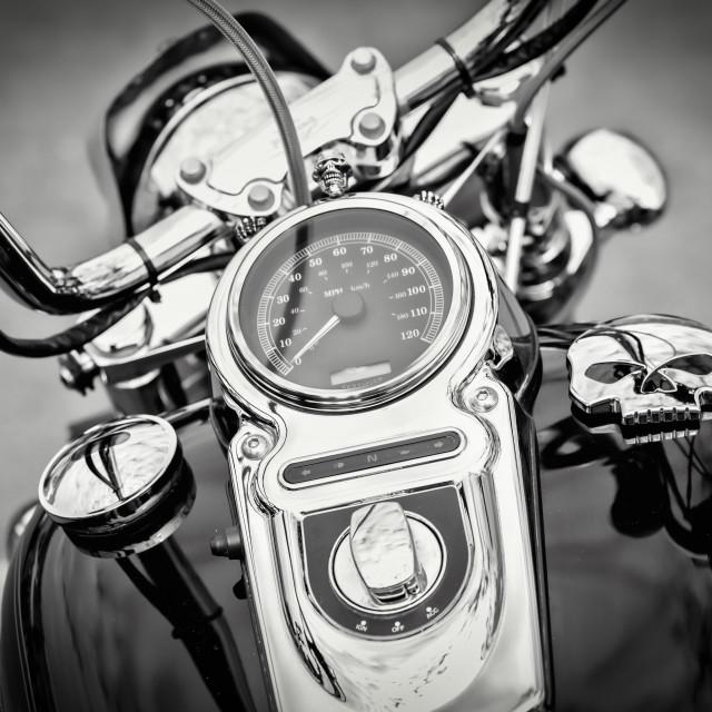 """""""Bike detail"""" stock image"""