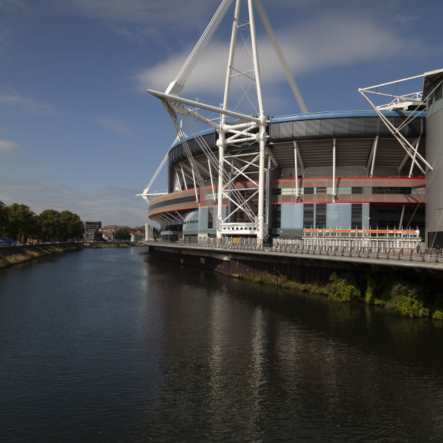 """Principality Stadium South Wales"" stock image"