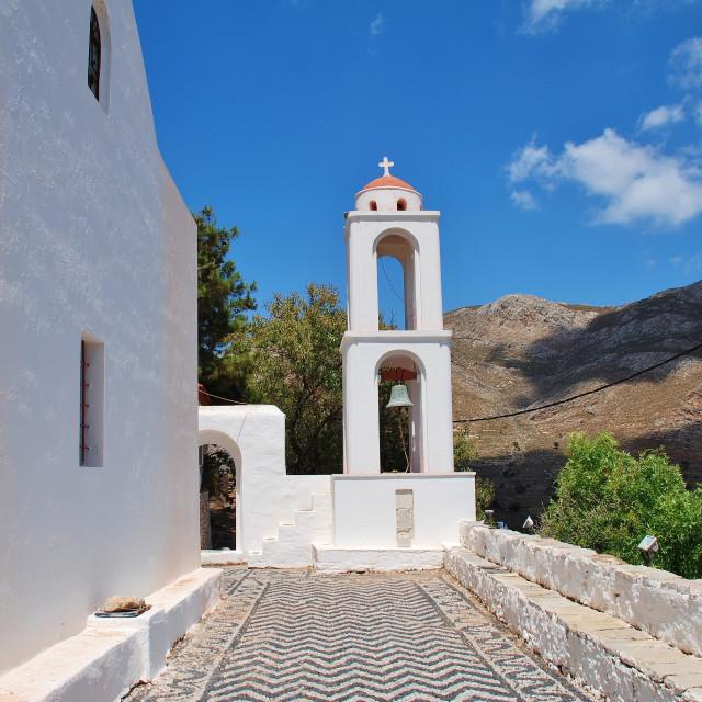"""Church of Archangel Michael, Tilos"" stock image"