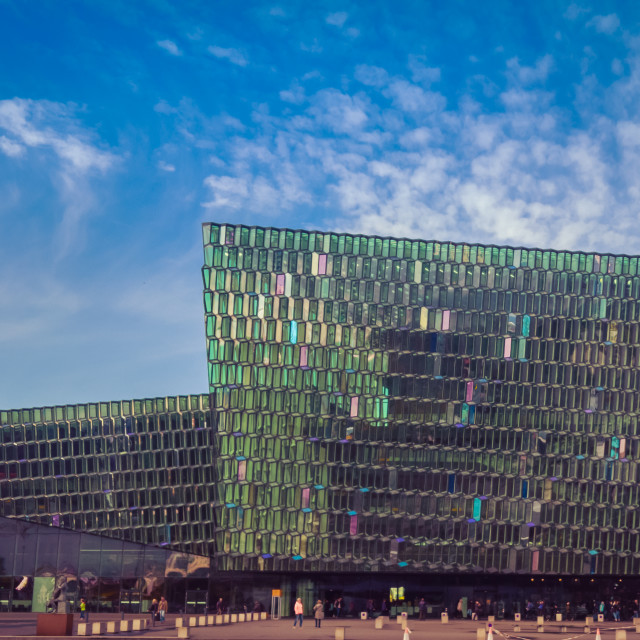 """Harpa colors"" stock image"