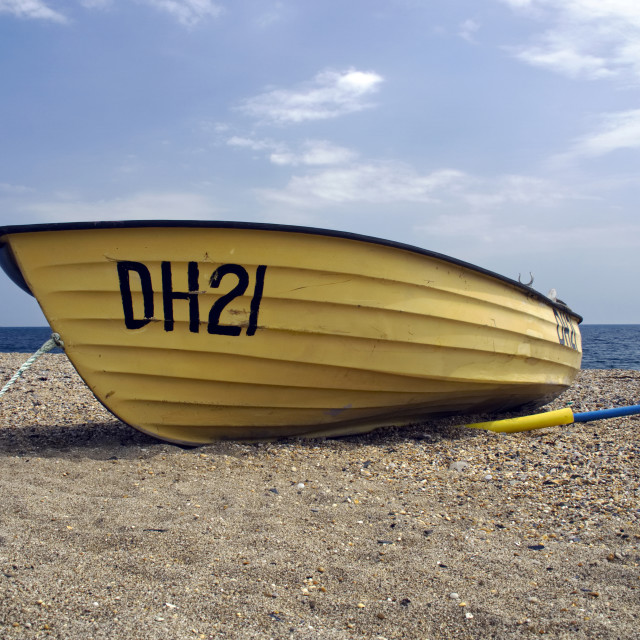 """Beesands Beach 1"" stock image"